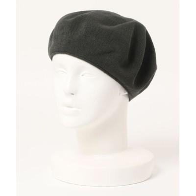 realize / 【W】【RACAL】クラシックニットベレー帽 WOMEN 帽子 > ハンチング/ベレー帽