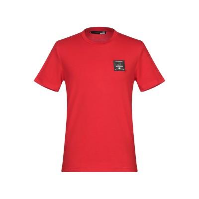 ラブ モスキーノ LOVE MOSCHINO T シャツ レッド XS コットン 95% / ポリウレタン 5% T シャツ