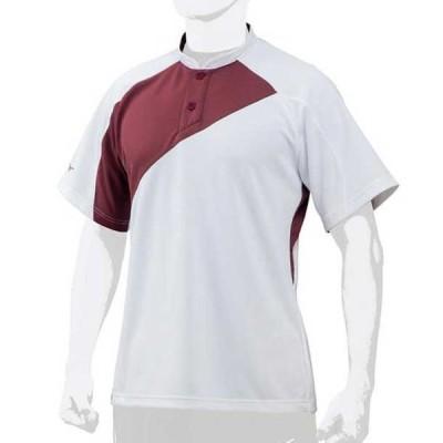 ミズノプロ ベースボールシャツ/侍ジャパンモデル  MIZUNO ミズノ 野球 ウエア ベースボールシャツ (12JC7L01)