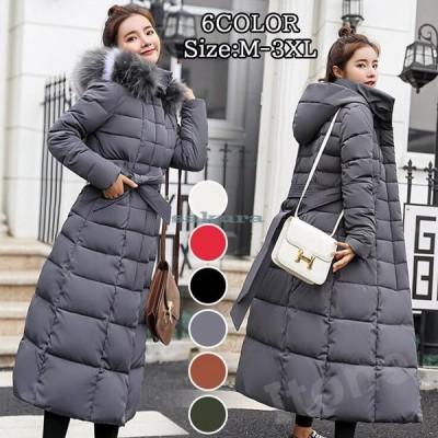 中綿コート レディース アウター コート ファーコート ボアコート ジャケット ダウンコート ファー ロングコート もこもこ フード付き 冬 暖かい 防寒