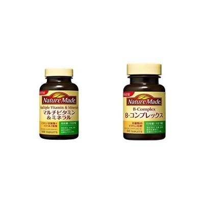 セット買い大塚製薬 ネイチャーメイド マルチビタミン&ミネラル 100粒 & ネイチャーメイド B-コンプレックス 60粒