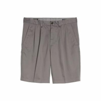 ノードストローム NORDSTROM MENS SHOP メンズ ショートパンツ ボトムス・パンツ Smartcare Pleated Shorts Grey Tornado
