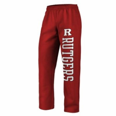 Fanatics Branded ファナティクス ブランド スポーツ用品  Fanatics Branded Rutgers Scarlet Knights Scarlet Sideblocker Fleece Pants