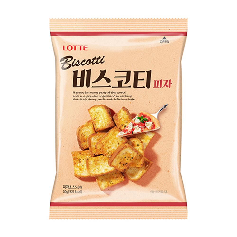 韓國樂天披薩口味麵包餅