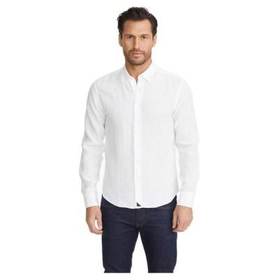 アンタックイット メンズ シャツ トップス Wrinkle-Resistant Linen Shirt