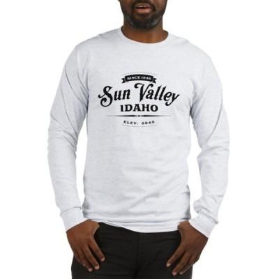 ユニセックス 衣類 トップス CafePress - Sun Valley Vintage Long Sleeve T Shirt - Unisex Cotton Long Sleeve T-Shirt Tシャツ