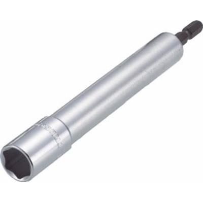 TRUSCO 電動ドライバーソケット ロング 14mm【TEF-14L】(レンチ・スパナ・プーラ・ソケットビット(電動用))