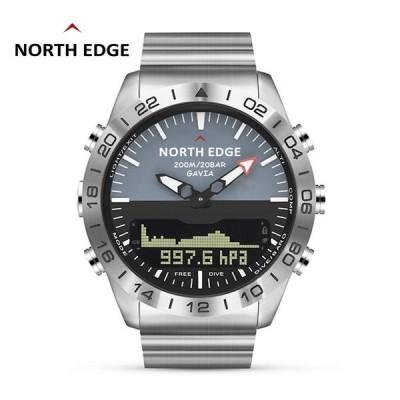 スマートウォッチ 腕時計 多機能 スポーツウォッチ 気圧計 防水 NORTH EDGE