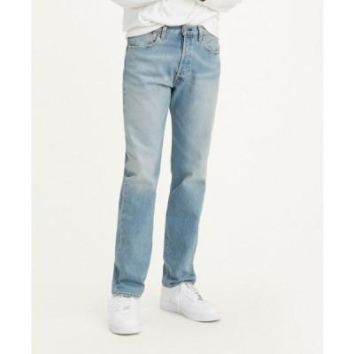 リーバイス カジュアルパンツ ボトムス メンズ Levi's Men's 501 Original Fit Jean Blue Dark 02