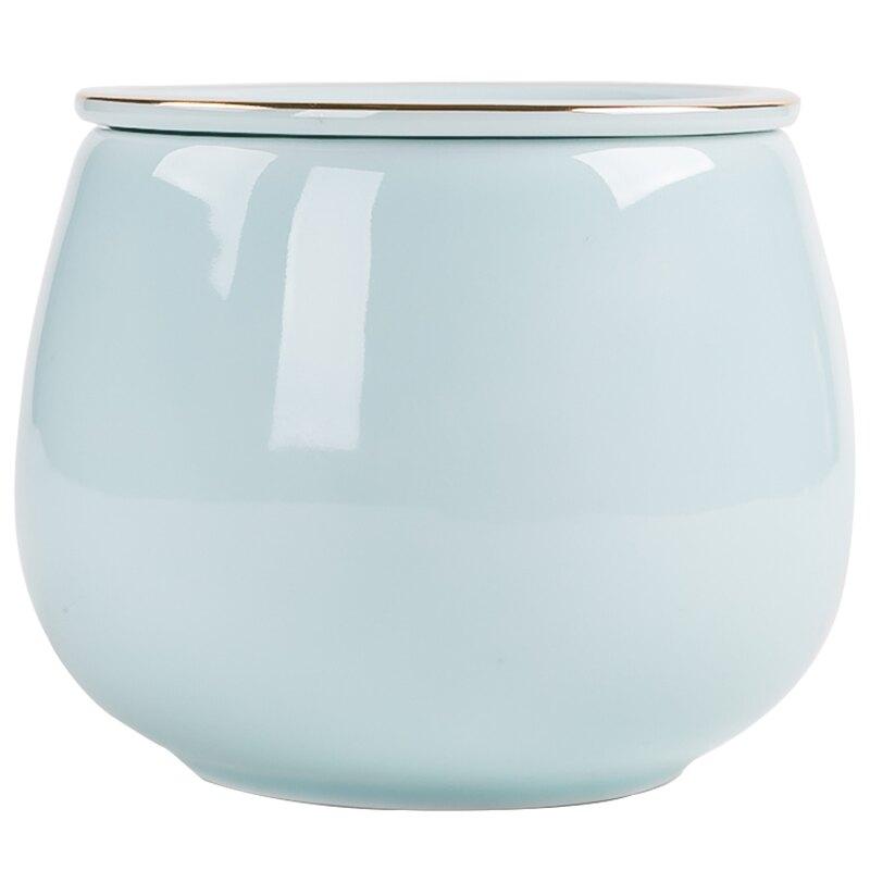 晟窯白瓷茶渣缸 大號陶瓷茶洗水盂杯洗水洗日式功夫茶具茶道配件