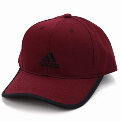 adidas キャップ ランニング アディダス 帽子 大きいサイズ ツイル 野球帽 スポーツ cap 赤 レッド