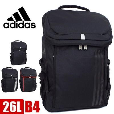 アディダス adidas リュック リュックサック 大容量 26L ボックス型 メンズ レディース 全3色 通学 1-55871