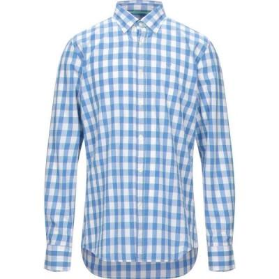 ノースセール NORTH SAILS メンズ シャツ トップス Checked Shirt Azure