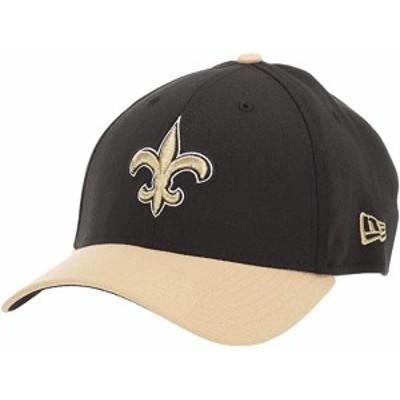(取寄)ニューエラ ユニセックス NFL チーム クラシック 39サーティ フレックス フィット キャップ - ニュー オーリアンズ セインツ New E