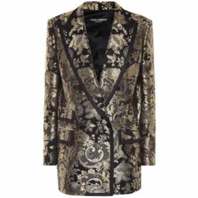 ドルチェandガッバーナ Dolce and Gabbana レディース スーツ・ジャケット アウター Metallic silk-blend jacquard blazer Jacquard