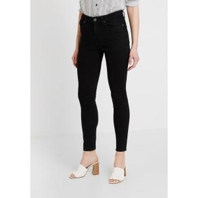 オブジェクト レディース デニムパンツ ボトムス OBJSKINNYKATIE  - Jeans Skinny Fit - black black