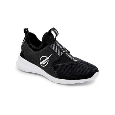 ナウティカ スニーカー シューズ レディース Ambrea Active Women's Slip-On Sneaker Black