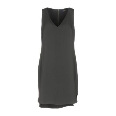 POLO RALPH LAUREN ミニワンピース&ドレス スチールグレー 4 ポリエステル 100% ミニワンピース&ドレス