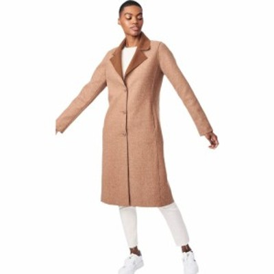 ベルナルド ファッションズ Bernardo Fashions レディース コート アウター Sweater Wool Coat Brick