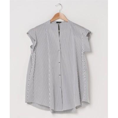 Abahouse Devinette / ノースリーブコットンシャツ WOMEN トップス > シャツ/ブラウス