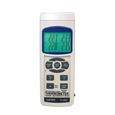 カスタム CT-05SD データロガー4チャンネル温度計