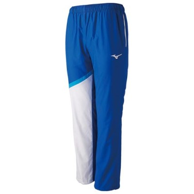 ミズノ メンズ トレーニングクロスパンツ[ユニセックス] 25サーフブルー×ホワイト S スイム ウエア N2JD9010