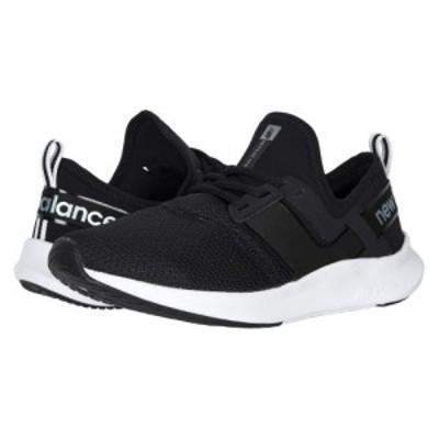 ニューバランス New Balance レディース スニーカー シューズ・靴 Nergize Sport Black/White Metallic