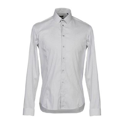 パトリツィア ペペ PATRIZIA PEPE シャツ ライトグレー 48 コットン 72% / ナイロン 24% / ポリウレタン 4% シャツ