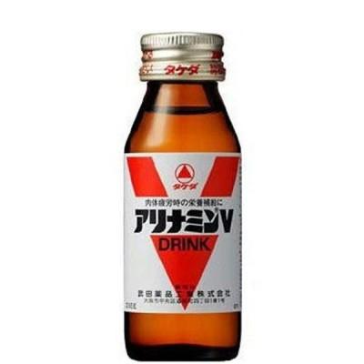 武田薬品工業 アリナミンV 50ml×10本 瓶 500ml ★酒類・冷凍食品・冷蔵食品との混載はできません★