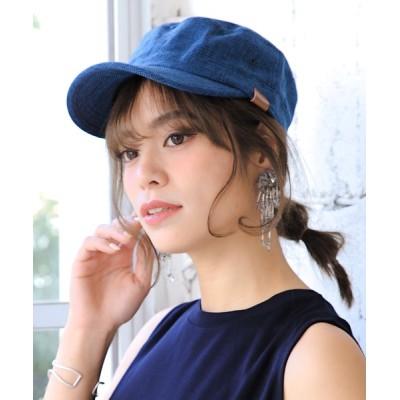 14+(ICHIYON PLUS) / BIGポリジュートワークキャップ WOMEN 帽子 > キャップ