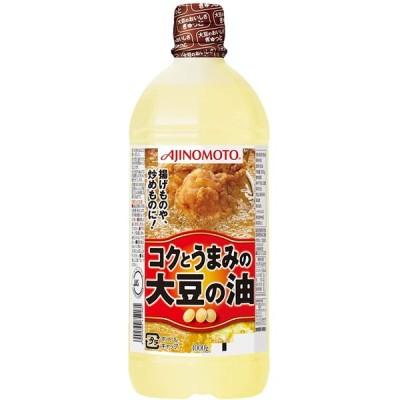 J-オイルミルズ AJINOMOTO コクとうまみの大豆の油 1000g ×5本