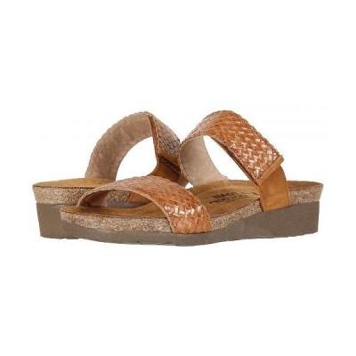 Naot ナオト レディース 女性用 シューズ 靴 サンダル Blake - Maple Braid Leather/Amber Nubuck