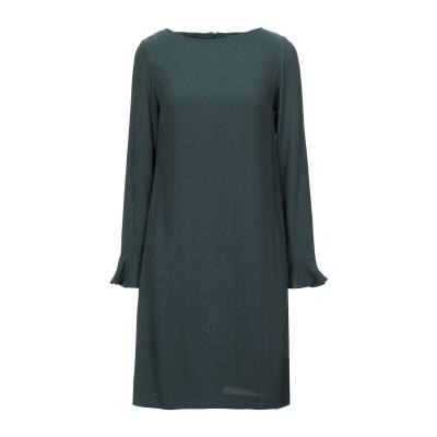 ゴート GOAT ミニワンピース&ドレス ダークグリーン 6 シルク 100% ミニワンピース&ドレス