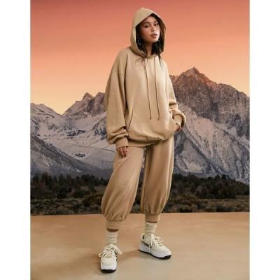 エイソス レディース パーカー・スウェットシャツ アウター ASOS 4505 unisex pullover hoodie Brown