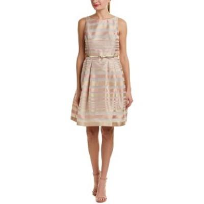 ジェシカハワード レディース ワンピース トップス Jessica Howard Total A-Line Dress silver stripe