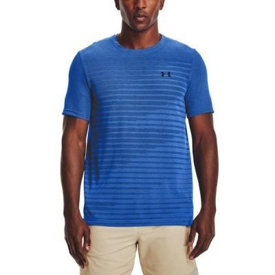 アンダーアーマー シャツ トップス メンズ Men's Seamless Fade T-Shirt Black