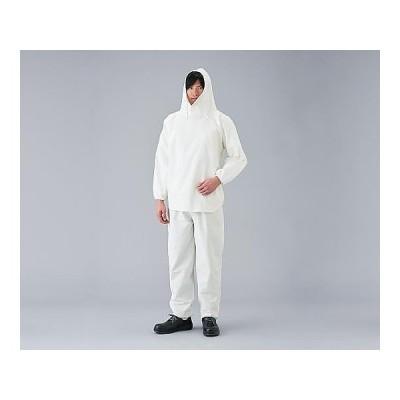 塗装服 上下セット 左胸ポケット付 L  aso 3-1798-01 医療・研究用機器