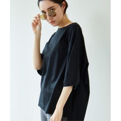 GALLARDAGALANTE / クールローレルオーバーTシャツ WOMEN トップス > Tシャツ/カットソー