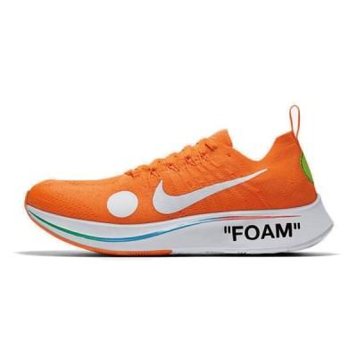 安心の本物鑑定による鑑定書付き!オフホワイト マーキュリアル 28.5cm Off-White × Nike Zoom Fly Mercurial Flyknit Orange