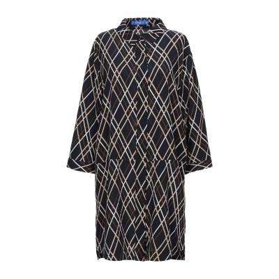 アノニム デザイナーズ ANONYME DESIGNERS ミニワンピース&ドレス ダークブルー XS ポリエステル 100% ミニワンピース&ドレス
