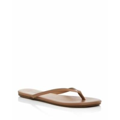 ティキーズ レディース サンダル シューズ Women's Foundations Leather Flip-Flops Cocobutter