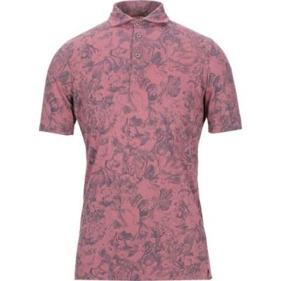 アッカ ノーヴェチンクエトレ H953 メンズ ポロシャツ トップス Polo Shirt Pastel pink