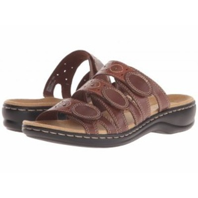 Clarks クラークス レディース 女性用 シューズ 靴 サンダル Leisa Cacti Q Brown Multi【送料無料】