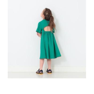 B:MING by BEAMS / 楊柳 背中開き ワンピース(120~160cm)