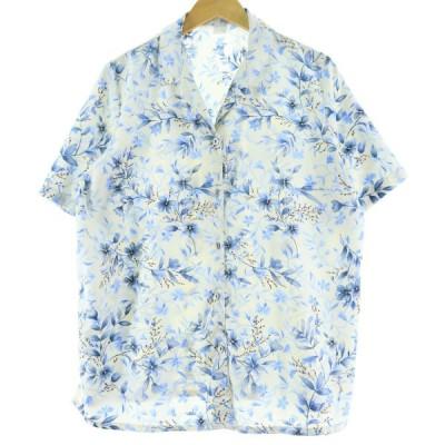 半袖 オープンカラー ポリシャツ レディースL /eaa063823