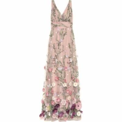 ノッテ バイ マルケッサ Marchesa Notte レディース パーティードレス ワンピース・ドレス Embellished gown Blush