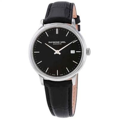腕時計 レイモンドウイル メンズ Raymond Weil Toccata Quartz Black Dial Men's Watch 5485-STC-20001