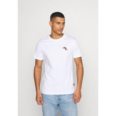 ユアターン Tシャツ メンズ トップス UNISEX - Print T-shirt - white