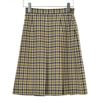 Aquascutum / アクアスキュータム ガンクラブチェックタック スカート