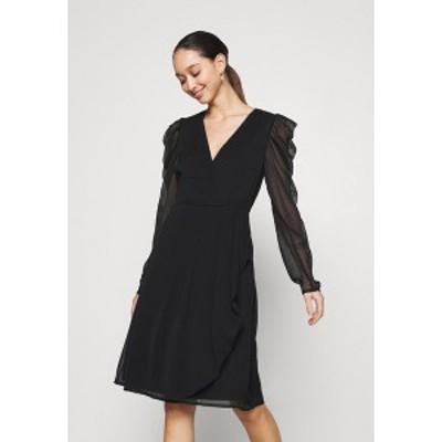 ヴィラ レディース ワンピース トップス VIELLIAN DRESS - Day dress - black black